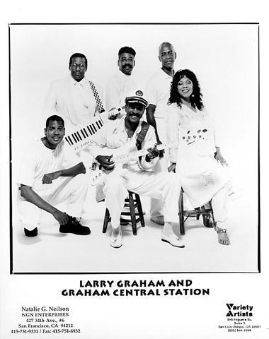 Larry Graham & Graham Central Station Promo Print