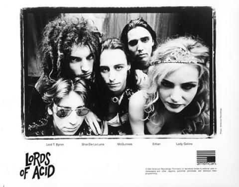 Lords of Acid Promo Print