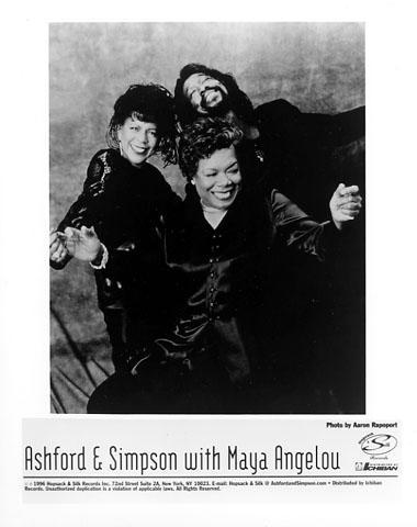 Ashford and Simpson Promo Print