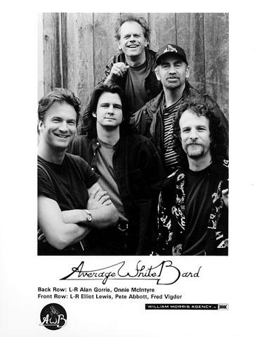 Average White Band Promo Print