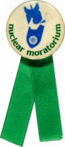 Nuclear Moratorium Pin