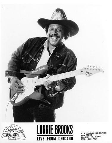 Lonnie Brooks Promo Print