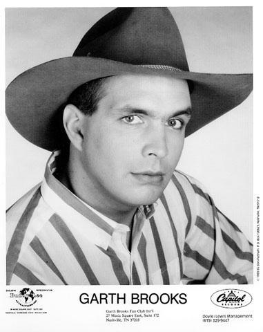 Garth Brooks Promo Print