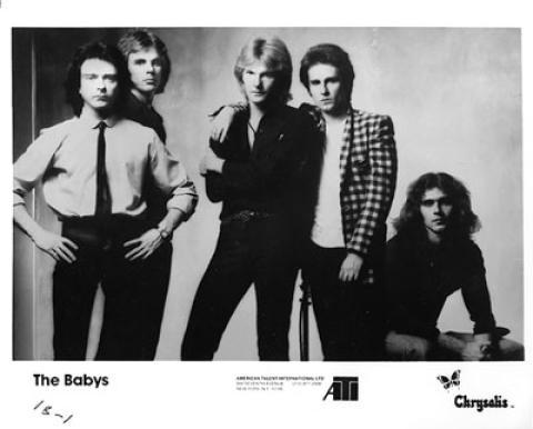 The Babys Promo Print