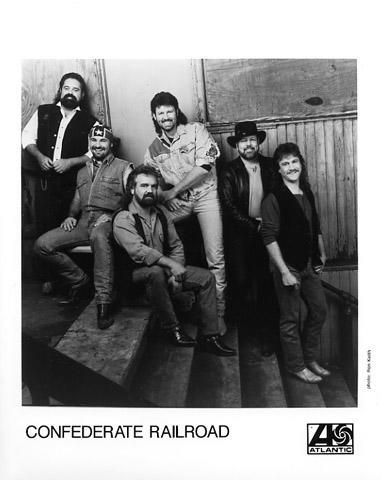 Confederate Railroad Promo Print