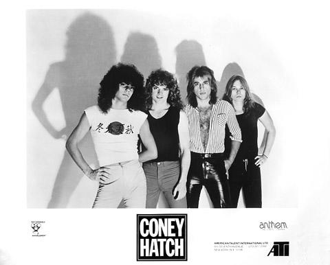 Coney Hatch Promo Print