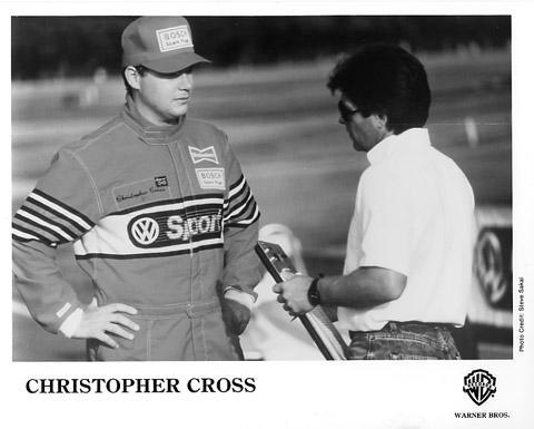 Christopher Cross Promo Print