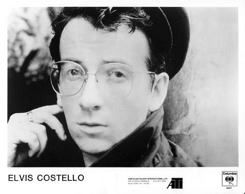 Elvis Costello Promo Print