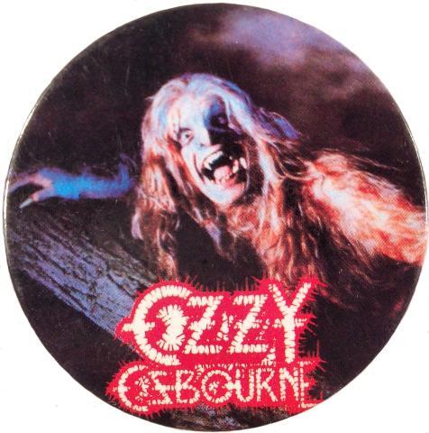 Ozzy Osbourne Pin