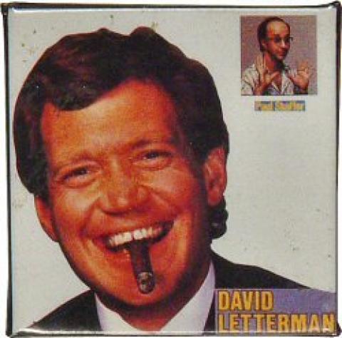 David Letterman Pin