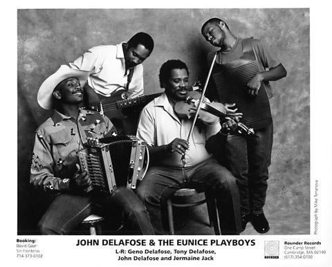 John Delafose & Eunice Playboys Promo Print