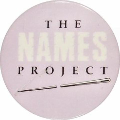 The Names Project Pin