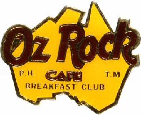 Oz Rock Café Pin