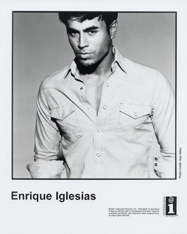 Enrique Iglesias Promo Print