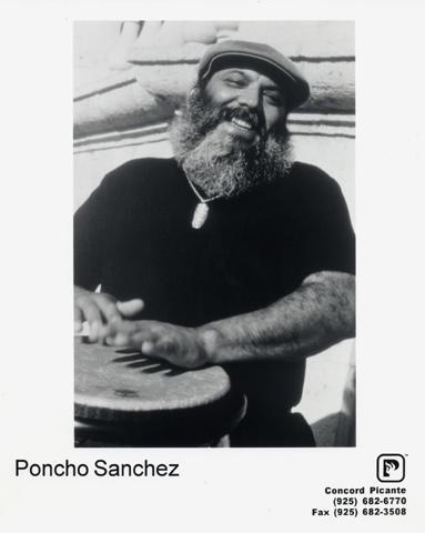 Poncho Sanchez Promo Print