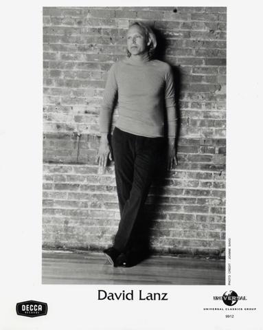 David Lanz Promo Print