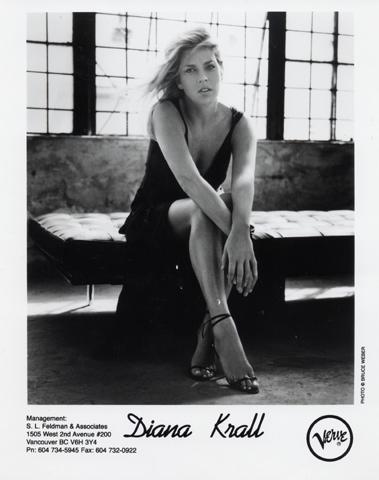 Diana Krall Promo Print