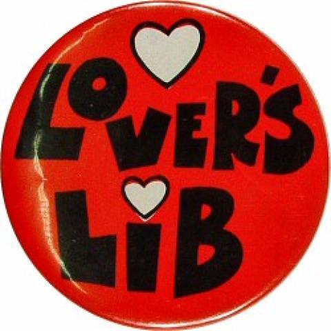 Lovers Lib Pin