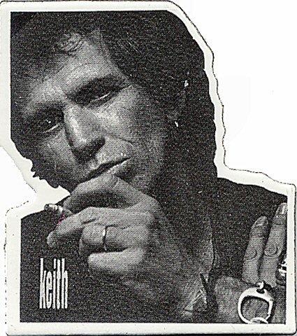 Keith Richards Pin