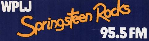 Bruce Springsteen Sticker