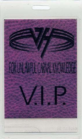 Van Halen Laminate
