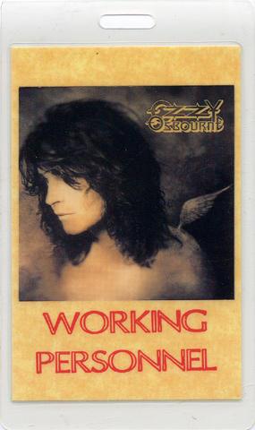 Ozzy Osbourne Laminate