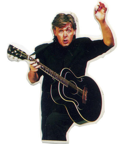 Paul McCartney Pin