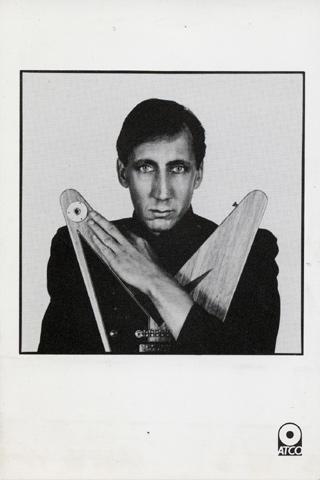 Pete Townshend Postcard