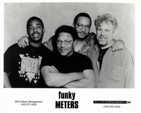 The Funky Meters Promo Print