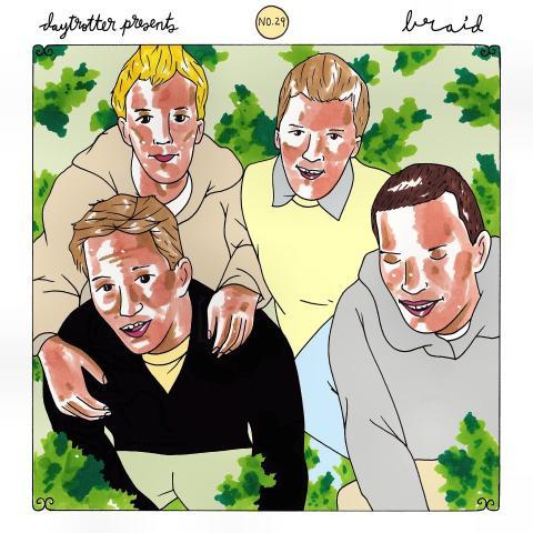 "Braid / The Jealous Sound Vinyl 12"""