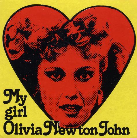 Olivia Newton-John Sticker