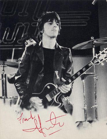 Frank Infante Handbill