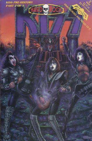 Hard Rock Issue 2: KISS Pre-History