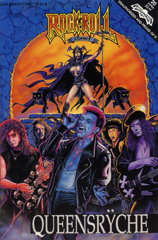 Revolutionary: Rock 'N' Roll Comics #20