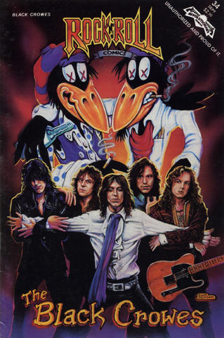 Rock 'N' Roll Issue 34: The Black Crowes