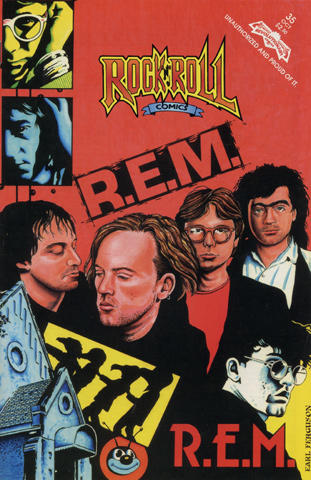 Revolutionary: Rock 'N' Roll Comics #35