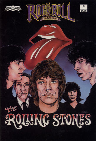 Revolutionary: Rock 'N' Roll Comics #6