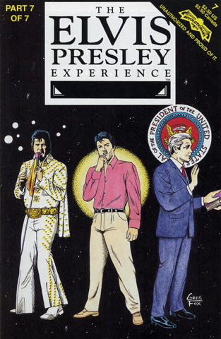 The Elvis Presley Experience Comic, Issue 7 Comic Book