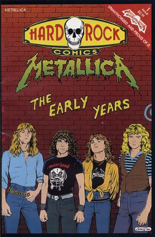 Hard Rock Issue 1: Metallica