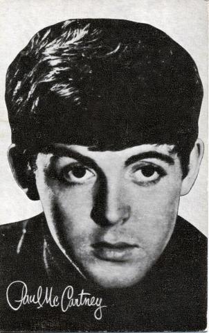Paul McCartney Handbill