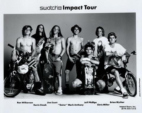 Swatch Impact Tour Promo Print