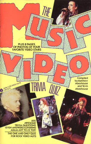 The Music Video Trivia Quiz