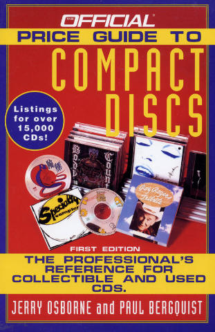 Official Price Guide to Compact Discs