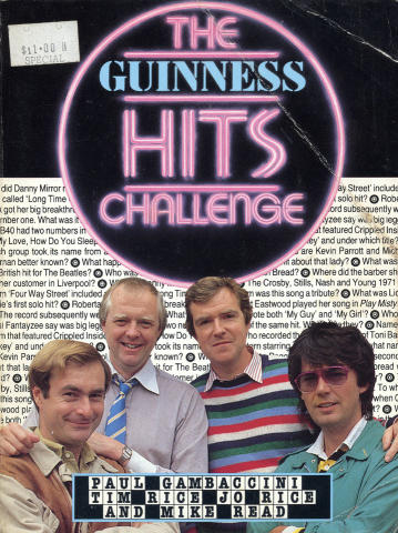 The Guiness Hits Challenge