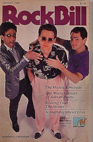 RockBill Magazine August 1982