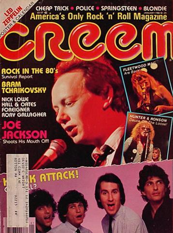 Creem Magazine January 1980