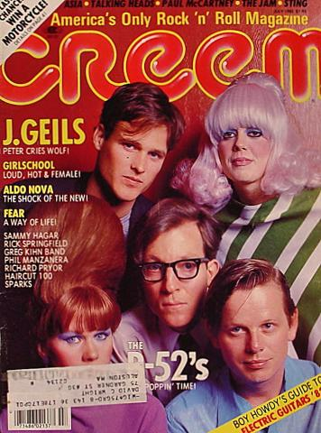 Creem Magazine July 1982