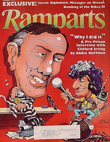 Ramparts Magazine October 1972