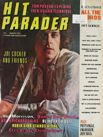 Hit Parader Magazine March 1970