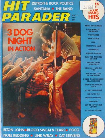 Hit Parader Magazine December 1971
